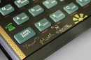 Sinclair ZX Spectrum bluetooth keyboard with Manic Miner Art