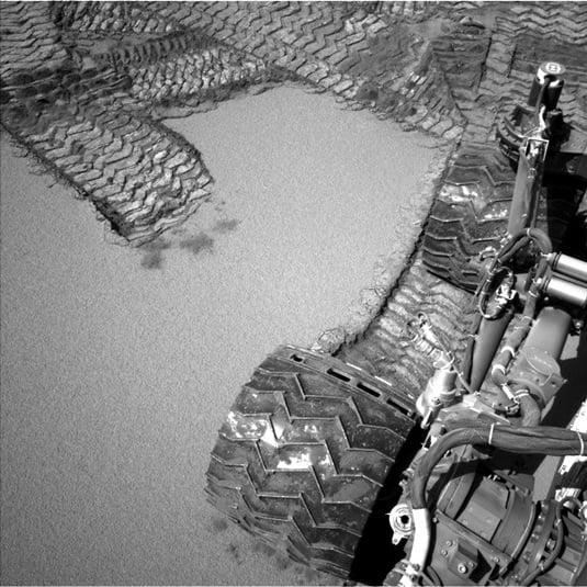 Mars dune