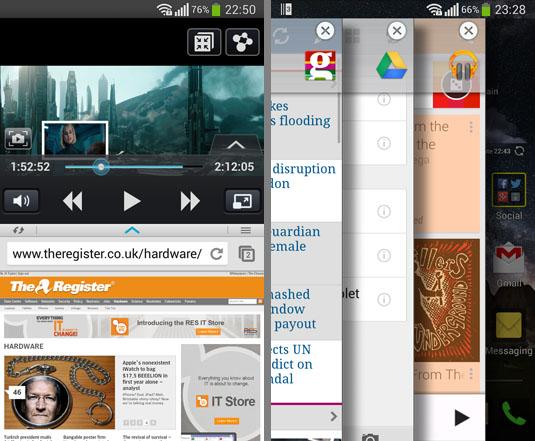 LG D958 G Flex Android handset