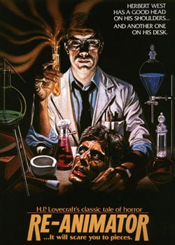 Empire of the Bs Re-Animator poster