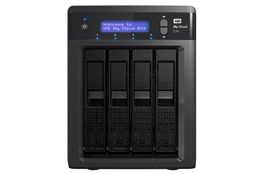 WD My Cloud EX4 NAS box