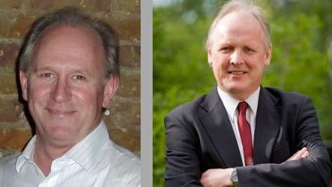 Steve Furber and Peter Davison