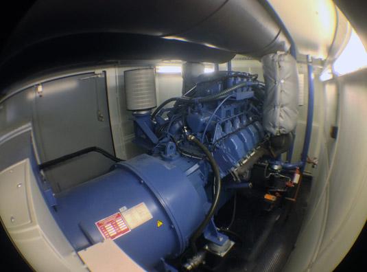 City Lifeline generator and Stamford alternator
