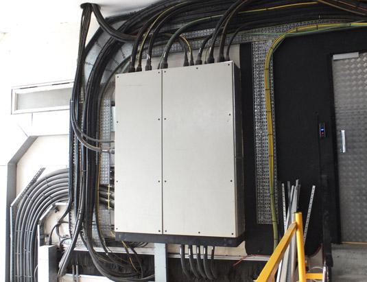 City Lifeline power distribution panels