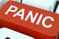 Panic button on keyboard