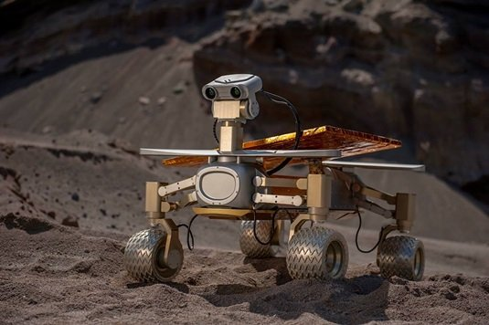 A German moon rover