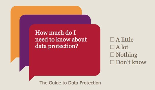 Need a Guide to Data Protection?