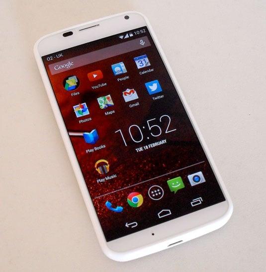 Motorola Moto X Touchless app