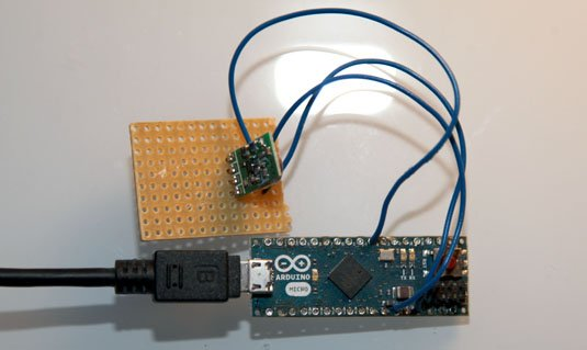 Arduino wired to LightwaveRF transmitter