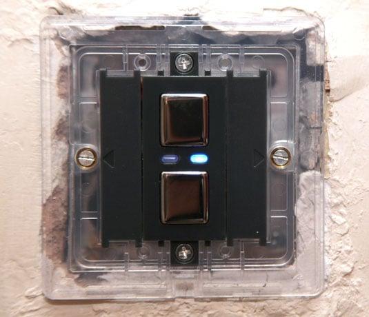 Lightwave RF socket and dimmer