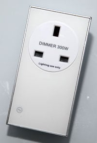 LightwaveRF socket dimmer
