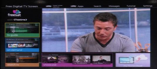 Panasonic UHD TV has all the interfacing, but no 4K content