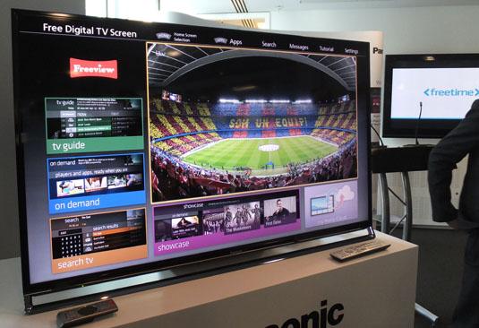 Panasonic AX-802 50-inch 4K TV with Freetime EPG