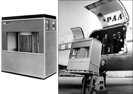 IBM 350 RAMAC hard drive