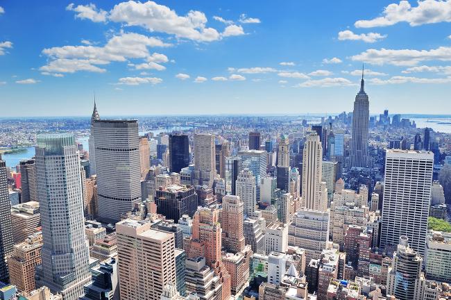 New York City's Manhattan skyline