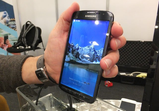 Galaxy Note still working after submersion