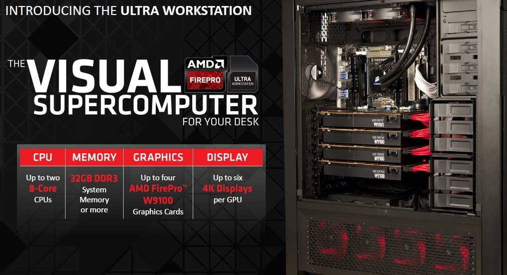 AMD Ultra Workstation specifications