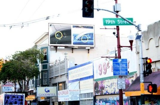 TWIT billboard