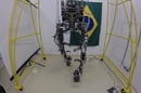 World Cup kicking exoskeleton
