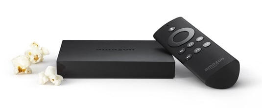 Amazon Fire TV and contr