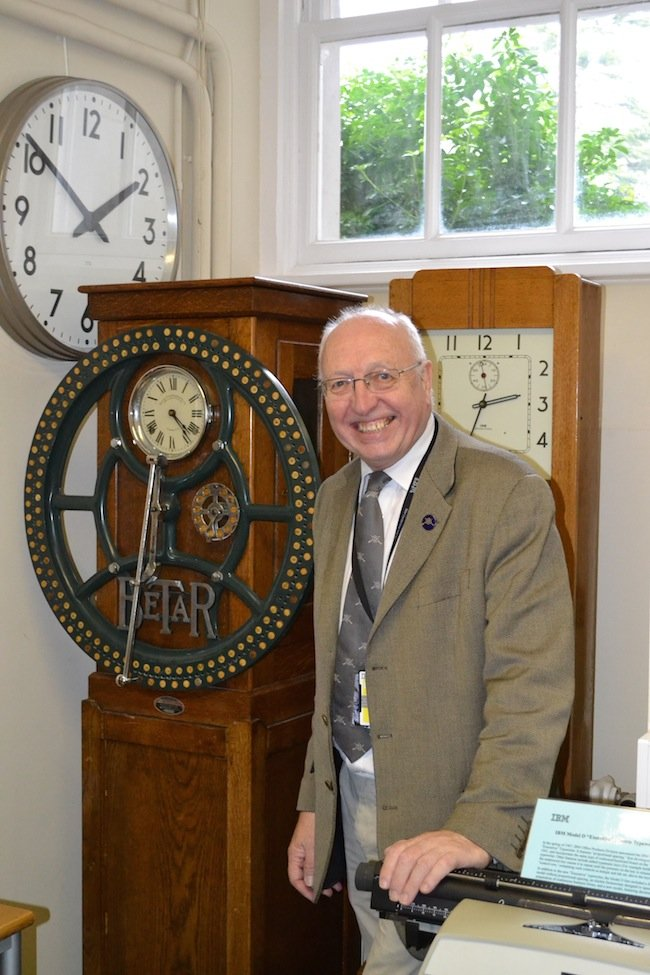 IBM museum curator Terry Muldoon