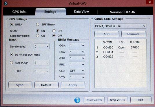 Getac Virtual GPS