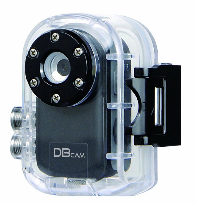 The DBcam Hi-Resolution Micro Action Sports Video Camera