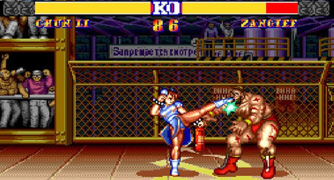 Streetfighter 2: Chun Li kicks things off