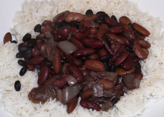 Neil's beans and rice