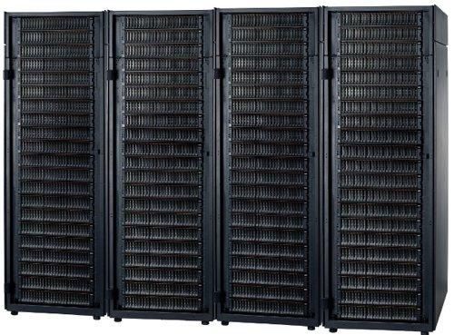 4 racks of V7000 boxes