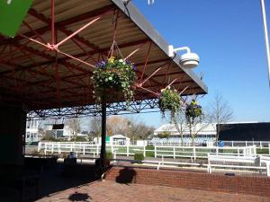 Cheltenham Racecourse, wireless access point: photo The Jockey Club