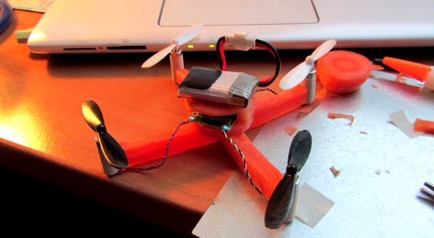 The Carrotcopter