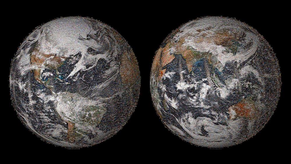 NASA Has Released A 3 2 Gigapixel  Global Selfie    Prising 36 422