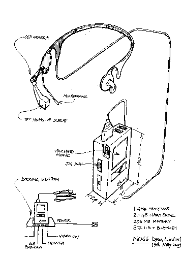 Concept drawing of the Dyson Halo (N066)