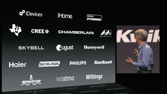 Partners that Apple has lined up for its HomeKit home-automation API effort