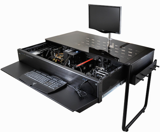 Lian Li's PC case desk
