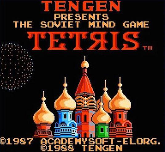 Tengen's recalled NES Tetris
