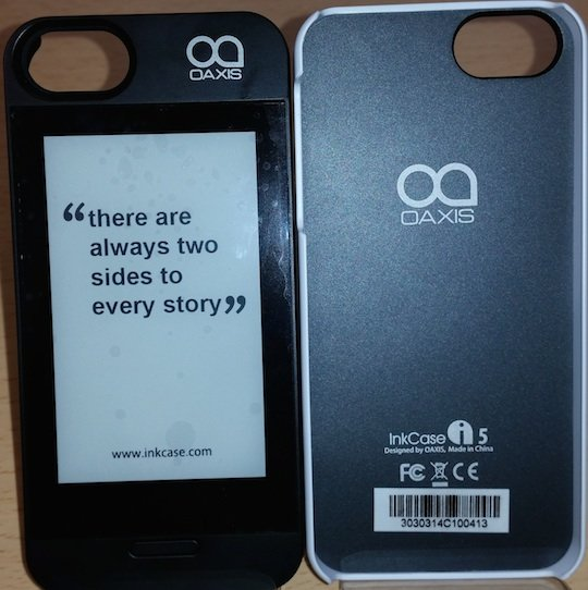 E-Ink iPhone case
