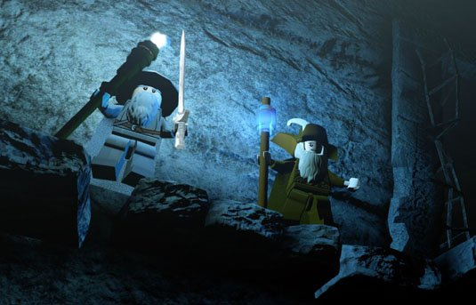 Lego The Hobbit – don't look down