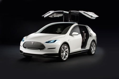 The Tesla X is based on the same platform as the S