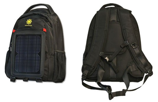 SolarGoPack 12k Solar Powered Backpack