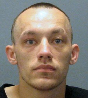 Police mugshot of Nicholas Wig