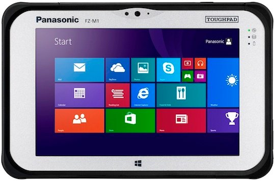Panasonic's FZ-M1 toughpad
