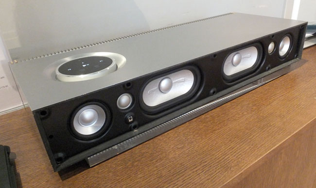 Naim Mu-so wireless sound system