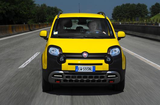 Simon Driving the Fiat Panda Cross