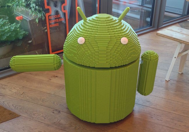 Google UK's Lego Android