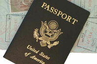 Photo of a US Passport