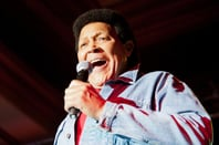 Chubby Checker performing in 2012