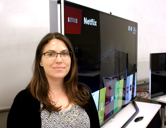 Danielle Zimmerman LG webOS product manager
