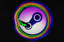 SteamOS installer splash screen gets psychedelic
